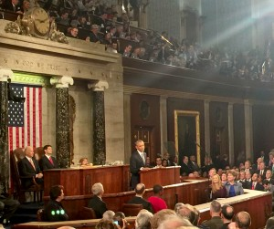 President Barack Obama Delivers His Final State Of The Union